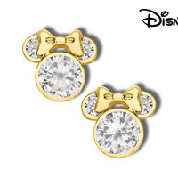 Minnie Mouse Zirconia Earrings - jac-h67886l