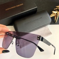 McQueen Women Men Fashion Shades Eyeglasses Glasses Sunglasses