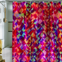 DENY Designs Home Accessories | Amy Sia Geo Gem Shower Curtain