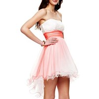 Strapless High-Low Dress - jcpenney