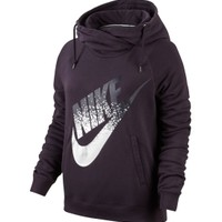 Nike Women's Rally Metal Funnel Neck Graphic Hoodie | DICK'S Sporting Goods