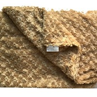 The Magic Weighted Blanket in Luxurious Soft Chenille (42 x 60 - 12 lb, Champagne Chenille)