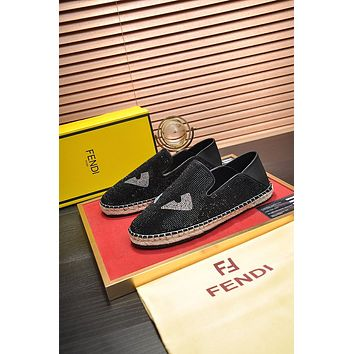 FENDI Men Fashion Boots fashionable Casual leather Breathable Sneakers Running Shoes0504qh