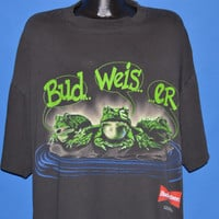 90s Budweiser Beer Frogs t-shirt XXL
