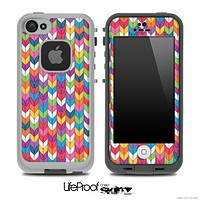 Colorful Knitted Skin for the iPhone 5 or 4/4s LifeProof Case