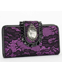 Rock Rebel Bride of Frankenstein Wallet