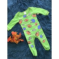 Baby Ganz Green Football Infant Footie