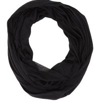 Solid Jersey Knit Infinity Scarf by Charlotte Russe