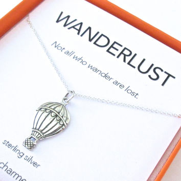 Wanderlust Charm Necklace Set