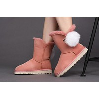 UGG Pink Limited Edition Classics Boots IRINA Women Shoes 1017502