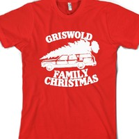 Griswold Family Vacation (vintage)-Unisex Red T-Shirt