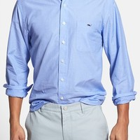 Men's Vineyard Vines 'Tucker' Slim Fit End on End Sport Shirt