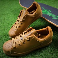 Sale Adidas Y-3 Super Knot Superstar Wheat Sport Shoes AC7406 Sneaker