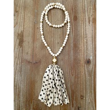 The Mia Tassel Necklace