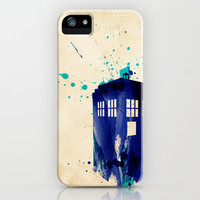 Doctor Who TARDIS Rustic iPhone Case by Colin Capurso   Society6