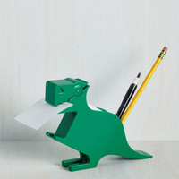 Quirky Memo-saurus Desk Organizer by Kikkerland from ModCloth