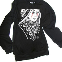 Crying Queen Of Hearts Sweatshirt