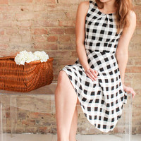 Ada Gingham Dress