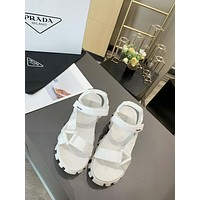 Prada Women's Leather Fashion Sandals Shoes