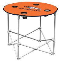 Denver Broncos NFL Portable Round Table