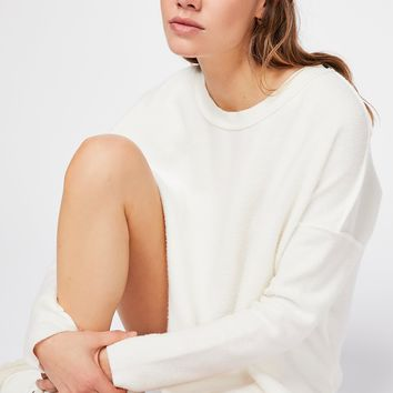 Washed Ashore Solid Pullover