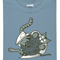 String Theory Research T-Shirt - Stone Blue,