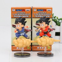 Dragon Ball Z Son Goku Cloud Somersault Small Kid Child Goku Figure Doll Action Figure Toy