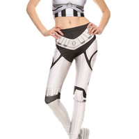 Robotic Leggings - White