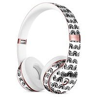 Semi-Circle Glyphics with Translucent Backing Full-Body Skin Kit for the Beats by Dre Solo 3 Wireless Headphones