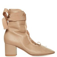 Ballerina lace-up ankle boots   Valentino   MATCHESFASHION.COM US