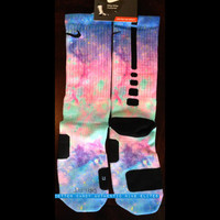 Authentic Nike Elites New Cotton Candy Edition Design