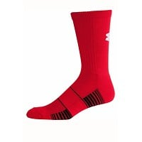 Under Armour Red Team Crew Socks