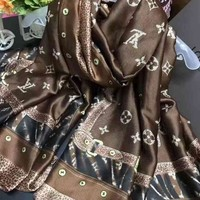 Perfect Louis Vuitton Woman Cashmere Scarf Shawl Silk Scarf Tagre™
