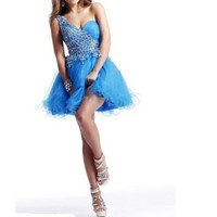 Sunvary Sweety Pageant Cocktail Homecoming Tulle Dresses Short