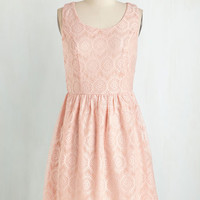 Pastel Mid-length Sleeveless A-line A Likely Storybook Dress