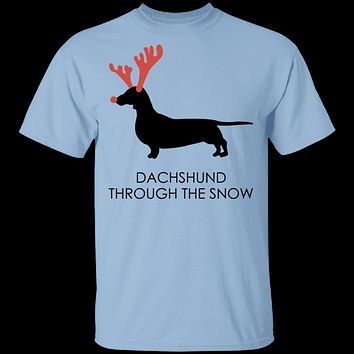 Dachshund Snow T-Shirt