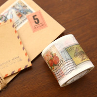 Vintage Stamps Washi Tape
