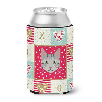 Egyptian Mau Cat Love Can or Bottle Hugger CK5114CC