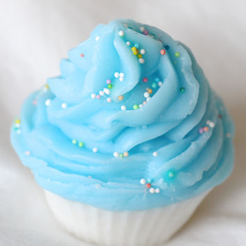 Blueberry Cupcake Soap
