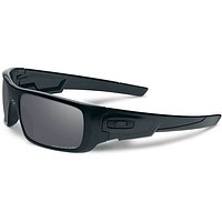 Oakley Crankshaft Polarized Sunglasses-Matte Black/Black Iridium Mens