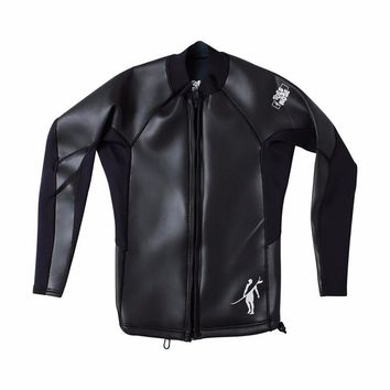 Toes on the Nose Old School Wetsuit Jacket Black