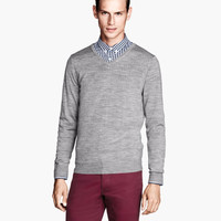 Merino Wool Sweater - from H&M