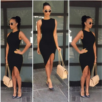 hot sale 2015 fashion women's sexy bodycon bandage dresses female club summer evening cocktail party dresses white black red yellow vestidos = 1946997764