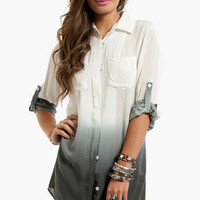 Painters Button Up Blouse $35