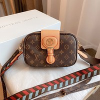 Louis Vuitton LV Hot Sale Printed Small Square Bag Western Style Shoulder Crossbody Bag