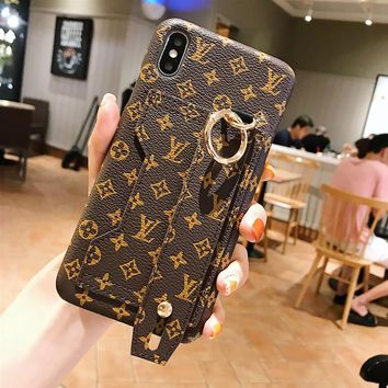 Coffee LV Case for iPhone 8 iPhone 8 Plus iPhone X iPhone XS iPhone XS MAX iPhone XR