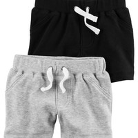 2-Pack Babysoft Shorts