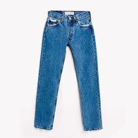 High Rise Blue Vintage Blogger Jeans