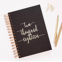 2018 Planner - 2018 Weekly Planner - Customized Planner - Journal - 2018 Diary - Planner- Weekly Planner