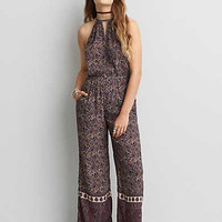 AEO Hi-Neck Jumpsuit, Multi